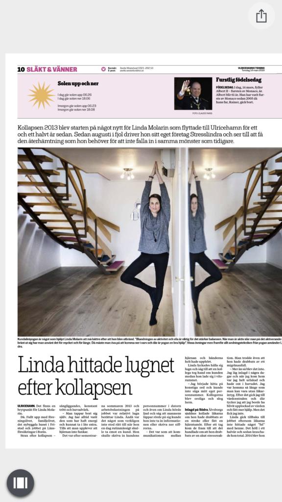 Bild från Ulricehamns Tidning