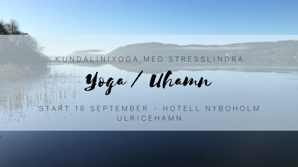 Yoga stress & välmående