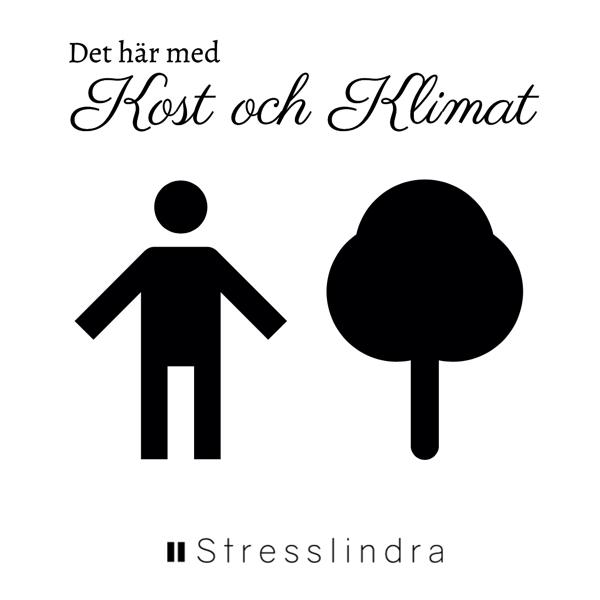 Bild på en människa och ett träd symboliserar hälsa och klimat